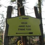 Początek szlaku na Krywań