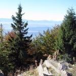 Samorody – skalisty cypel na Lubaniu