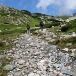 Droga na próg Doliny Hińczowej (Hincova dolina)