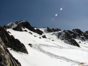 Droga na szczyt Świnicy