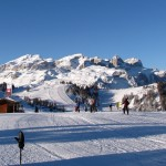 Alta Badia – widok nagrupę Sella