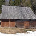 Bacówka na polanie Stawieniec