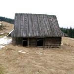 Bacówka na polanie Podskały