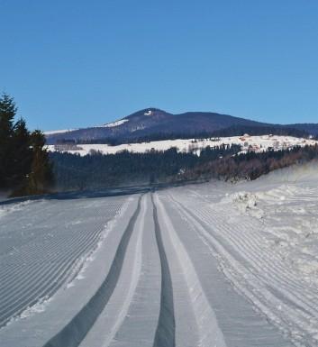 Mogielica - narciarskie trasy biegowe