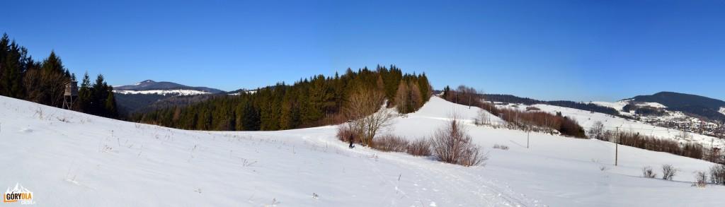 Narciarska trasa biegowa (mała) podMogielicą