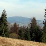 Ćwilin 1072 m widziany z grani Tobołowa