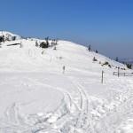 Przełęcz Brona 1408 m