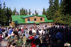 Stare, nieistniejące schronisko na Markowych Szczawinach (2006 rok)