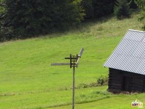 Odstraszacz ptaków (?) na Przełęczy Przysłopek