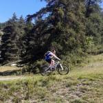Poczatek podjazdu na przełęcz Col du Granon 2413 m