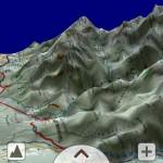SeeMap 3D - obraz otoczenia Hawrania widziany z Rusinowej Polany
