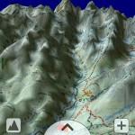 SeeMap 3D - obraz Doliny Białej Wody z Rusinowej Polany