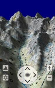 SeeMap 3D - otoczenie Doliny Białej Wody