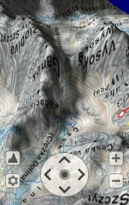 SeeMap 3D - rejon Rysów i Wysokiej