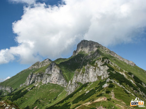 Płaczliwa Skała (słow. Ždiarska vidla) 2142 m n. p. m.