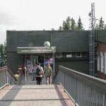 Górna stacja kolejki linowo-terenowej na Hrebienok