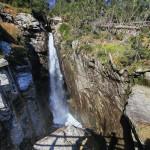 Wodospad Olbrzymi (słow. Obrovský vodopád) znajdujący się na dolnym progu Doliny Małej Zimnej Wody