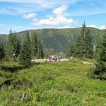 Skrzyżowania pod Przednim Zielonym (słow. Predné zelené) w Spalonej Dolinie