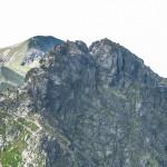 Szczyt Rohacza Ostrego (słow. Ostrý Roháč, 2088 m)