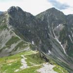Rohacze: Ostry 2088 m i Płaczliwy 2125 m - widok z Wołowca 2064 m