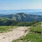 Ścieżka na szczyt Rakonia 1879 m