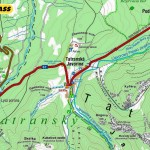 Tatranska Javorina - mapa