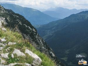 W dole Przełęcz Plöcken Pass