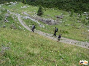 Droga na Przełęcz Plöcken Pass