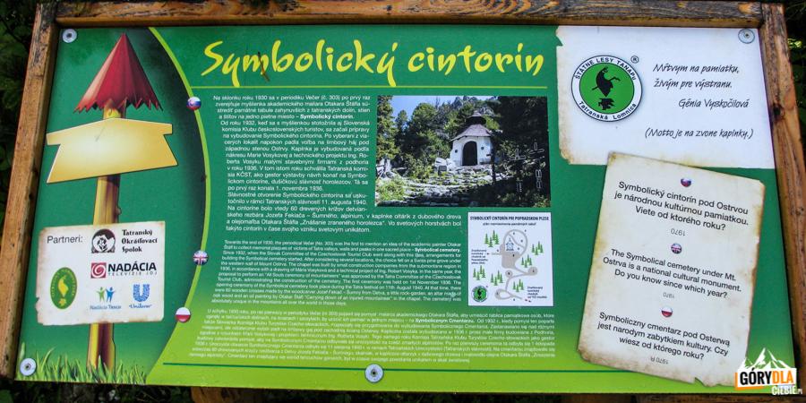 Tatrzański Symboliczny Cmentarz podOsterwą