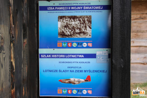 """Ekspozycja """"Lotnicze Ślady na Ziemi Myślenickiej"""" oraz """"Izba Pamięci Drugiej Wojny Światowej"""""""