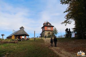 Na szczycie Lubonia Wielkego 1022 m