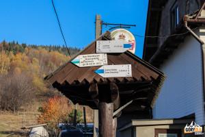 Szlaki z Przełęczy Gruszowiec