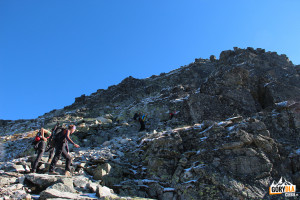 Podejście pod Skrajny Granat