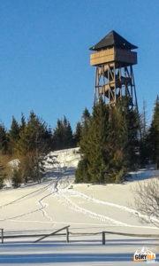 Wieża widokowa na Lubaniu (1211 m)
