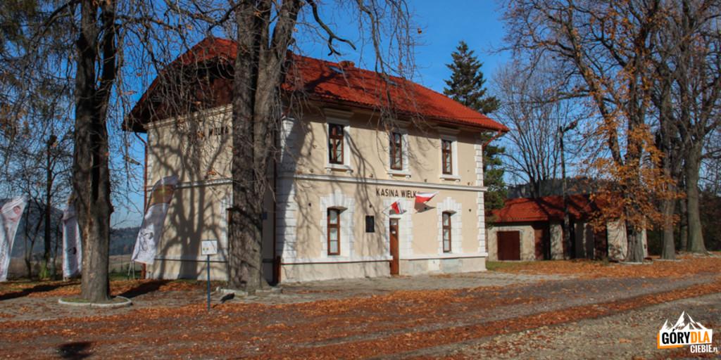 Stacja kolejowa wKasinie Wielkiej