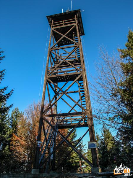 Wieża widokowa naMogielicy