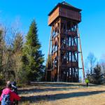 Wieża widokowa naMagurkach