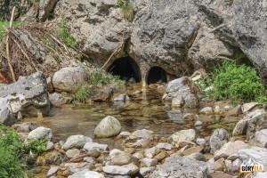Krasowe przepływy Potoku Chochołowskiego