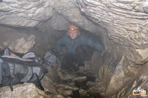 Biała Ulica w Jaskini Mylnej