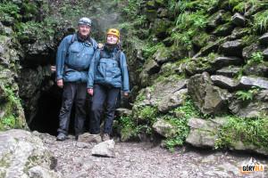 Wyjście (północne) z Jaskini Mylnej