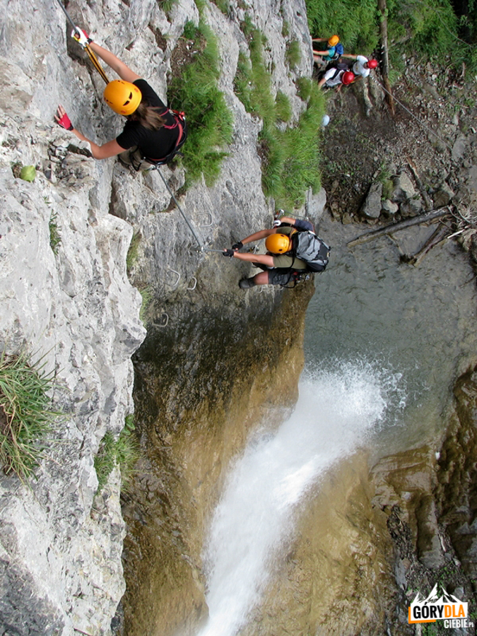 Próg wodospadu Millnatzenklamm