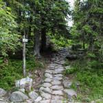 Droga do Morskiego Oka - niebieski szlak przez Świstówkę do Pięciu Stawó