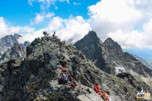 Srodkowy wierzchołek Rysów 2503 m