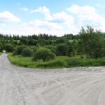 Bukowiec - skrzyżowanie z Błękitną Aleją