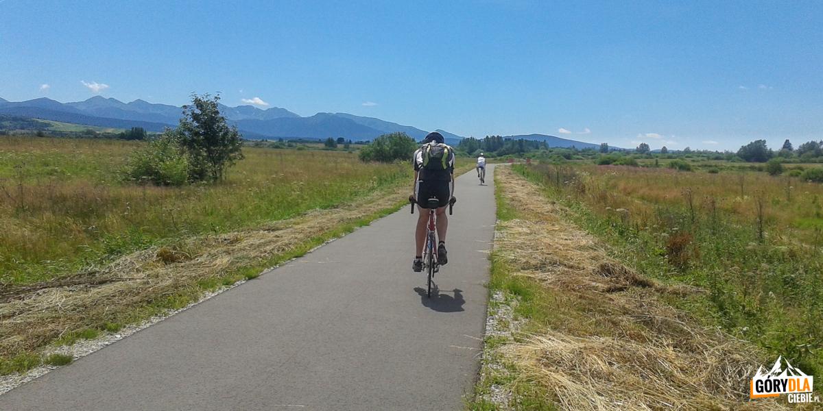 Rowerem wokół Tatr - Nowy Targ-Trstena