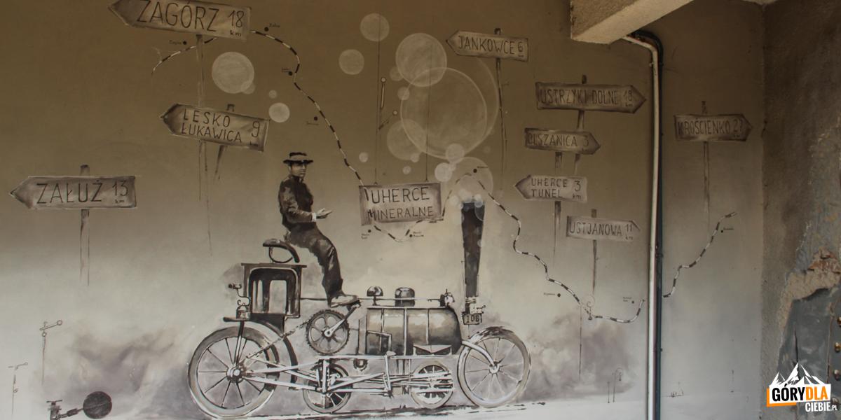 Drezyny rowerowe - stacja wUhercach Mineralnych