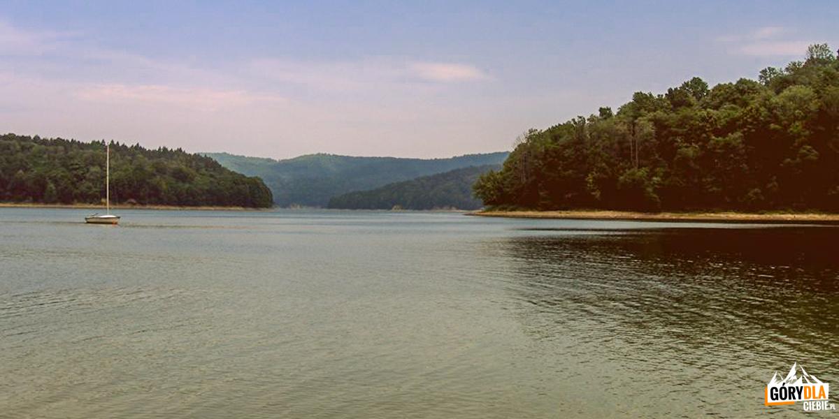 Jezioro Solińskie (fot.Sebastian Kwiatkowski)