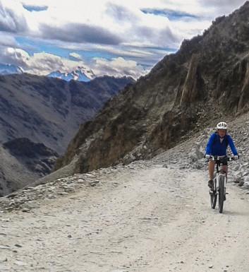 Col de Sommeiller na rowerze