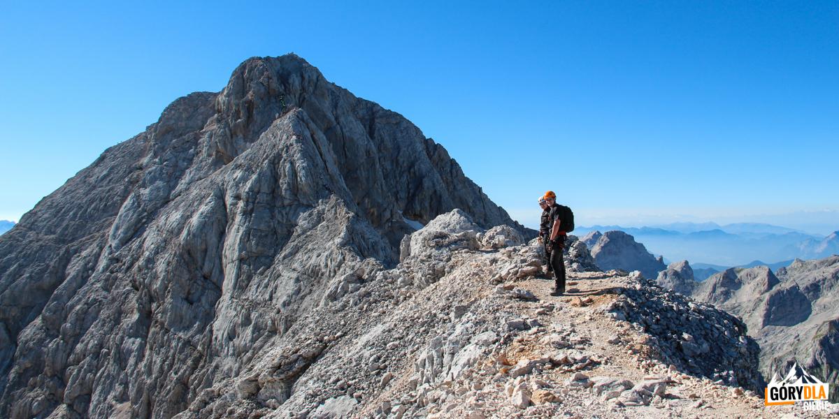 Podejście naszczyt Triglav (2864 m)