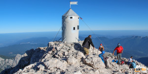 """""""Aljažev Stolp"""" - Triglav 2864 m"""